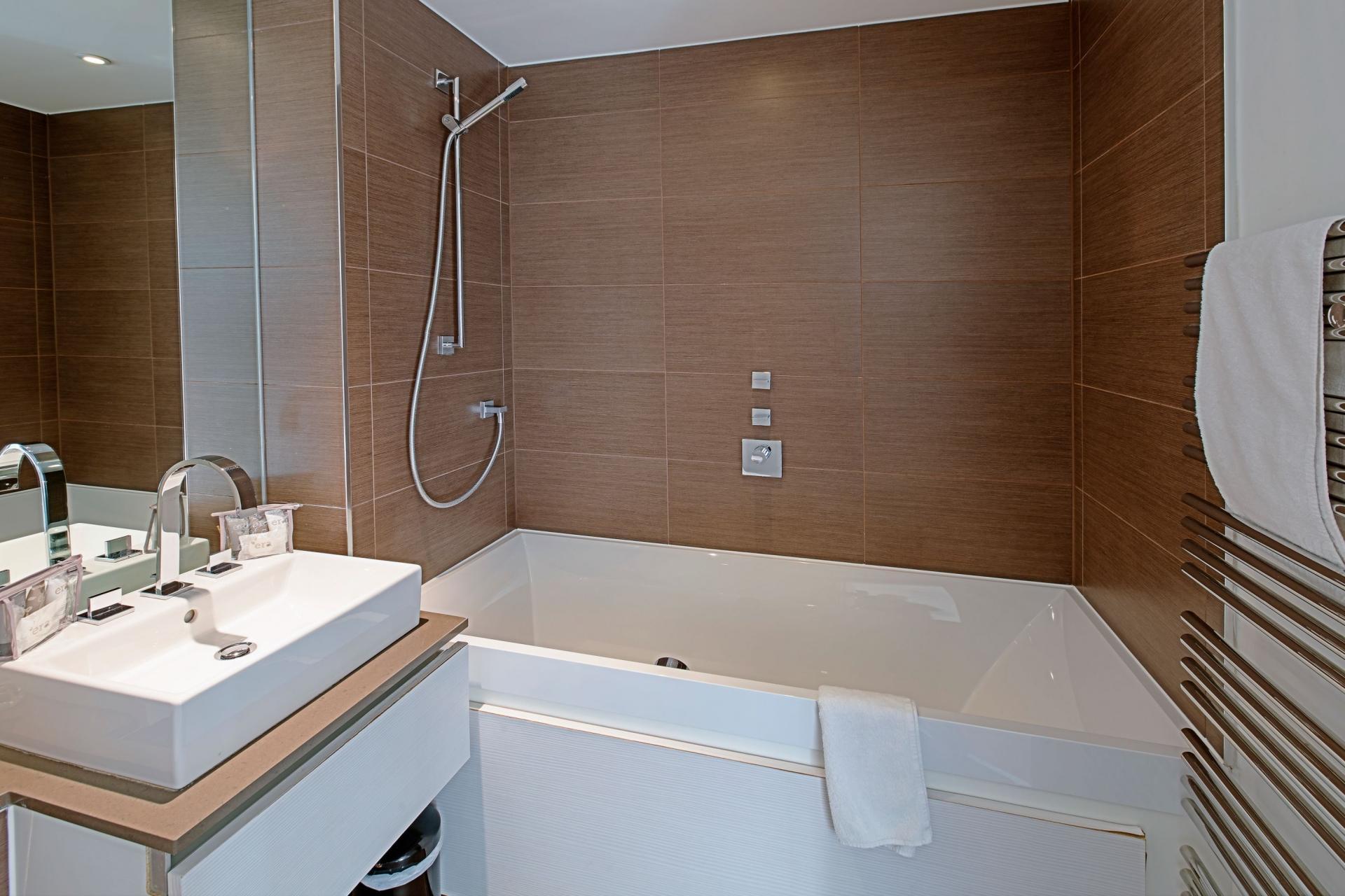 Bathroom at Gunwharf Quays Serviced Apartments