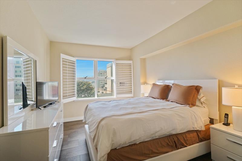 Bedroom at Soma Apartments