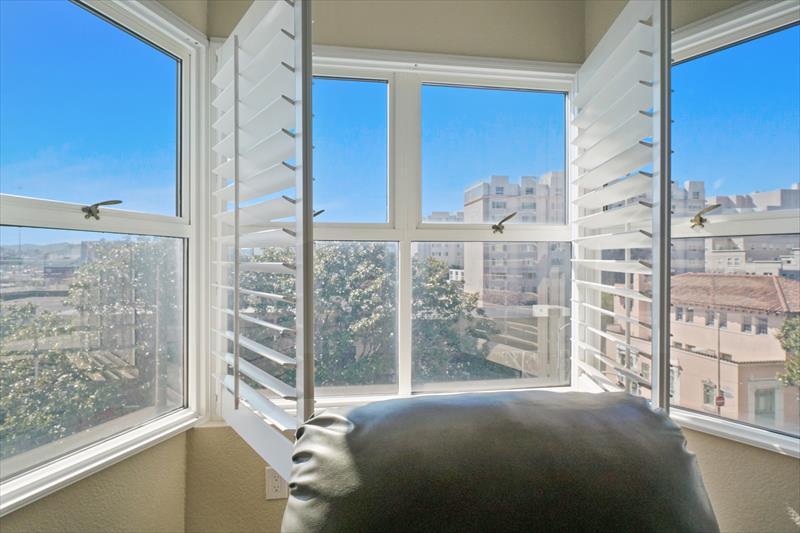 Bright lounge at Soma Apartments