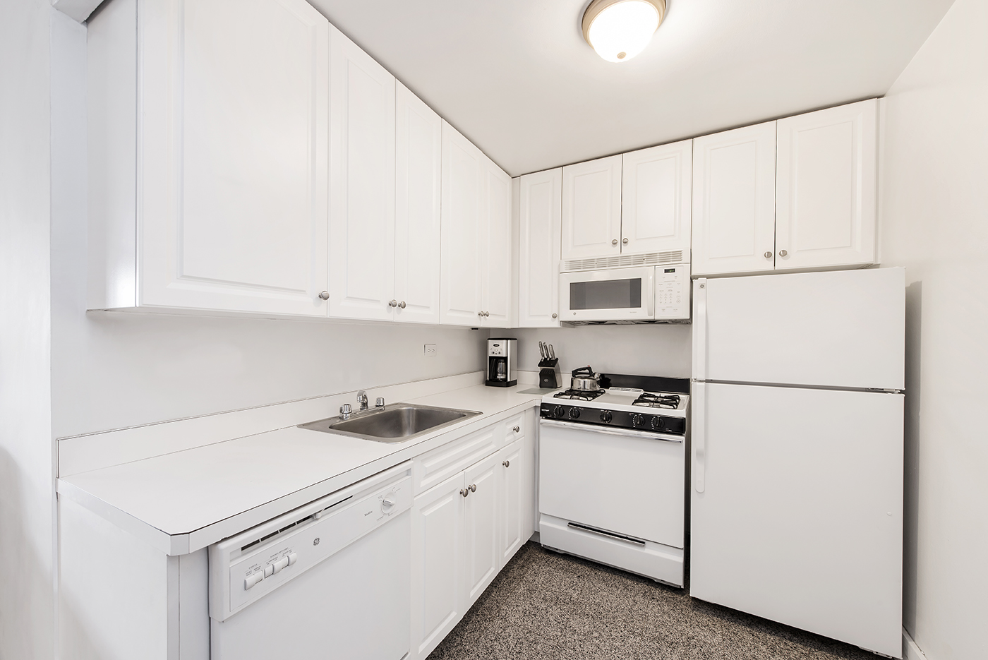Kitchen at 60 East 12th Street Apartments