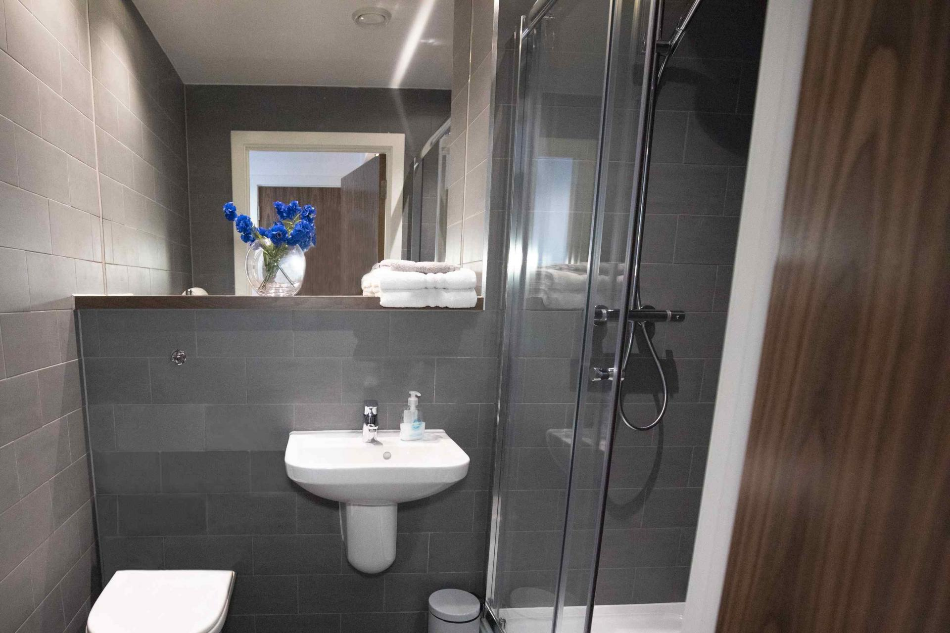 En suite at Manchester Greengate Apartments