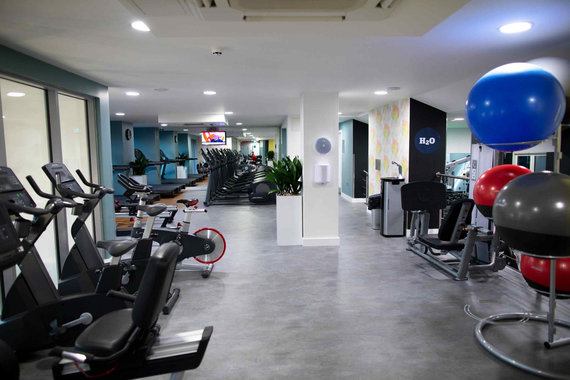 Gym at Manchester Greengate Apartments