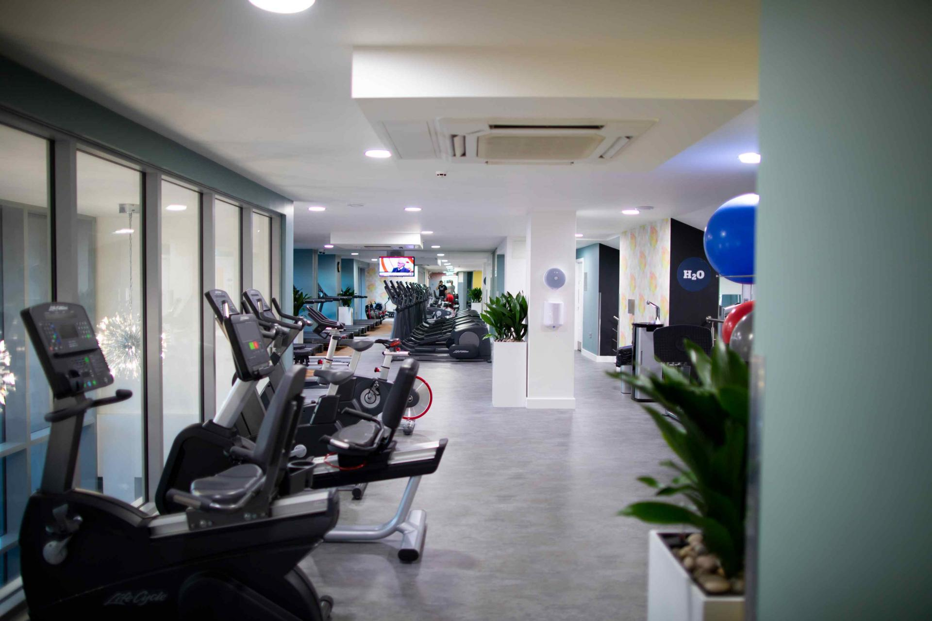 Fitness centre at Manchester Greengate Apartments