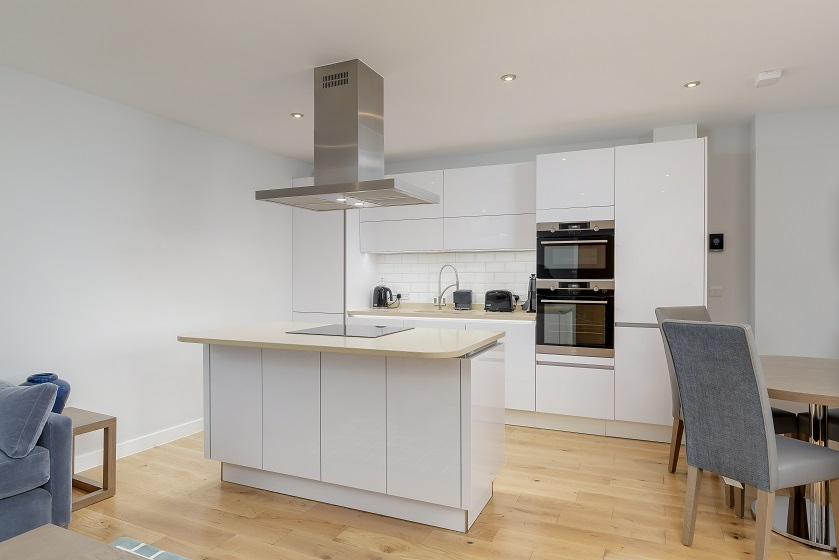 Kitchen at Royal Mile Residence Apartments