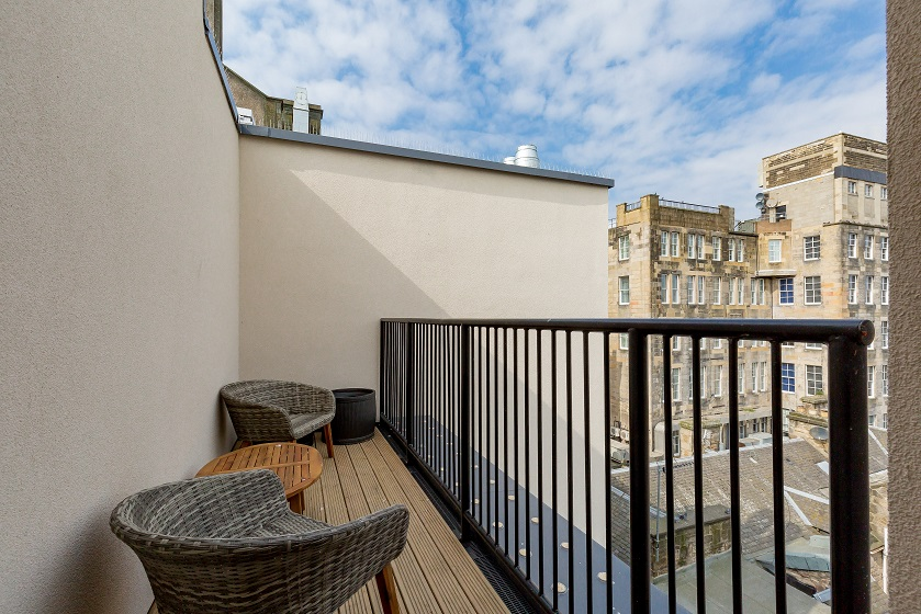 Balcony at Royal Mile Residence Apartments