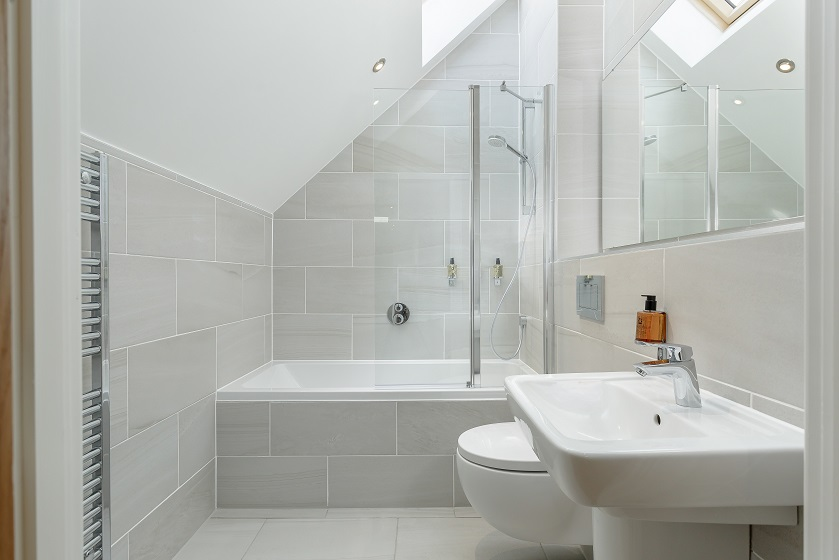 Bathroom at Royal Mile Residence Apartments