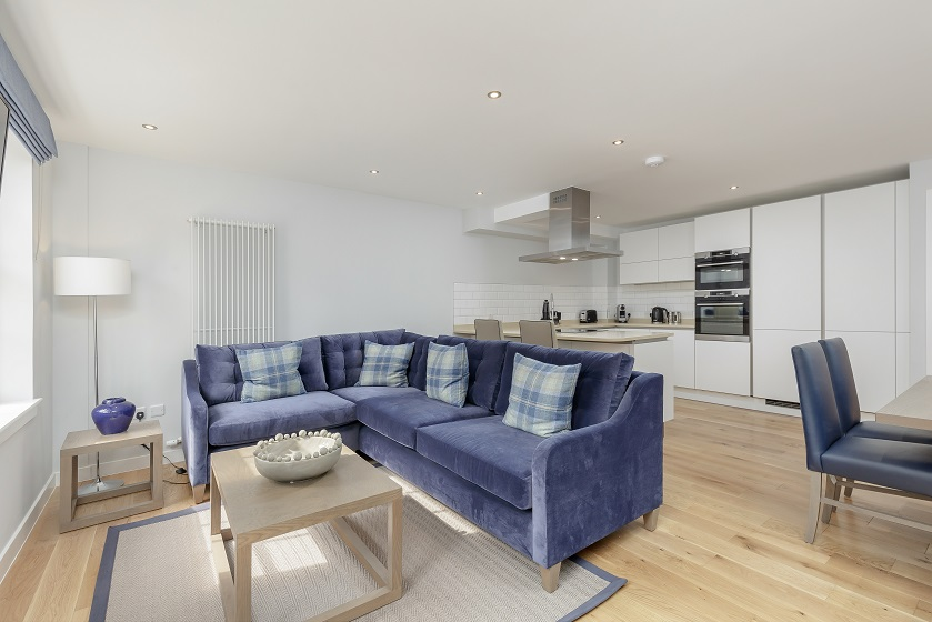Sofa at Royal Mile Residence Apartments
