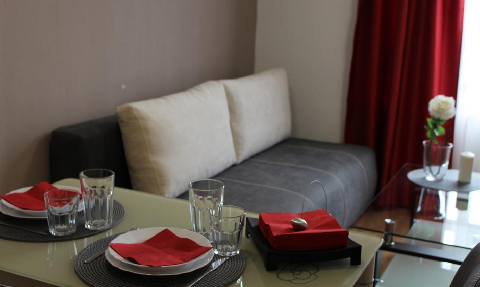 Living room at Plovdiv Dobri Voynikov Apartments, Centre, Plovdiv