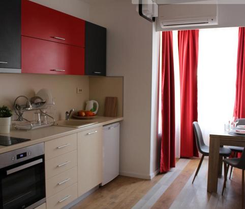 Kitchen at Plovdiv Dobri Voynikov Apartments, Centre, Plovdiv