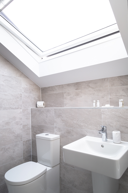 Bathroom at Park House Duplex Apartments