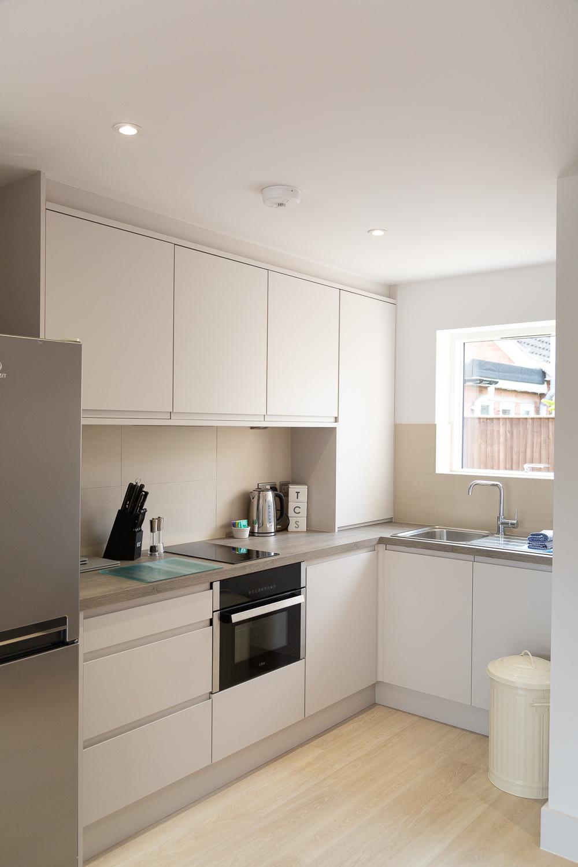 Kitchen at Park House Duplex Apartments