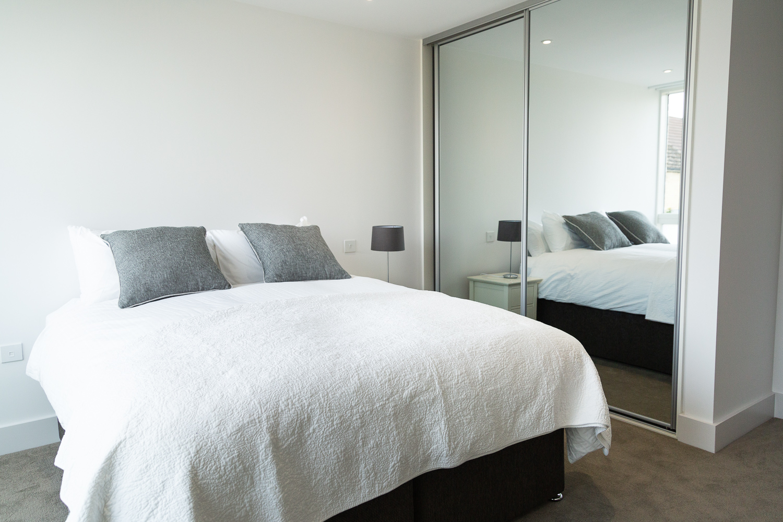 Bedroom at Park House Duplex Apartments