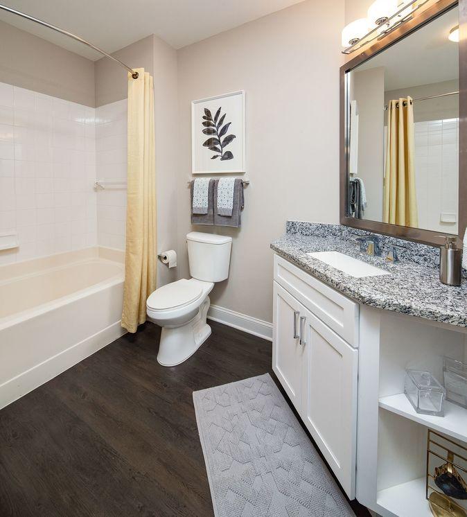 Bathroom at The Acadia at Metropolitan Park