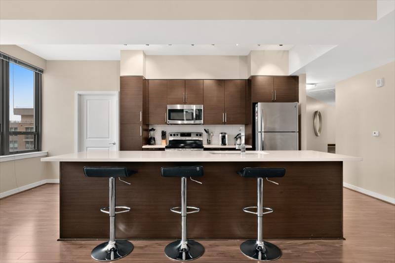 Kitchen at The Acadia at Metropolitan Park