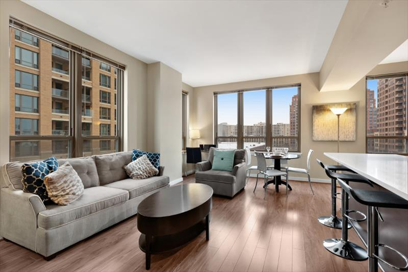 Lounge at The Acadia at Metropolitan Park