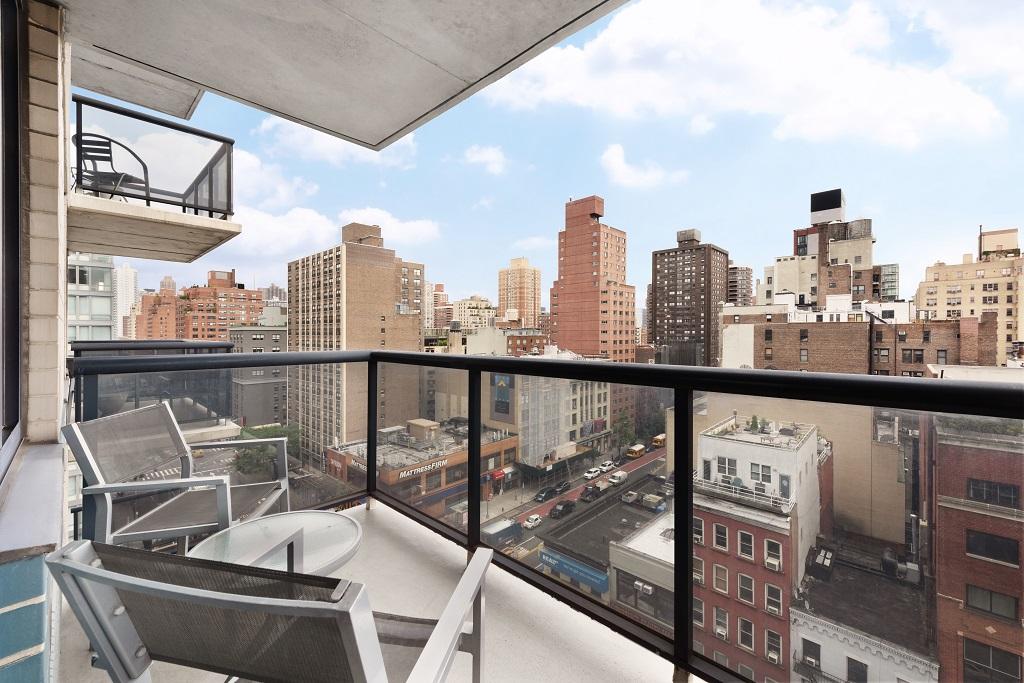 Balcony at Instrata Gramercy Apartments
