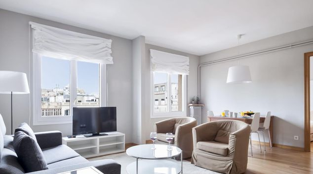 Lounge at Sunny Serviced Apartments, Eixample, Barcelona