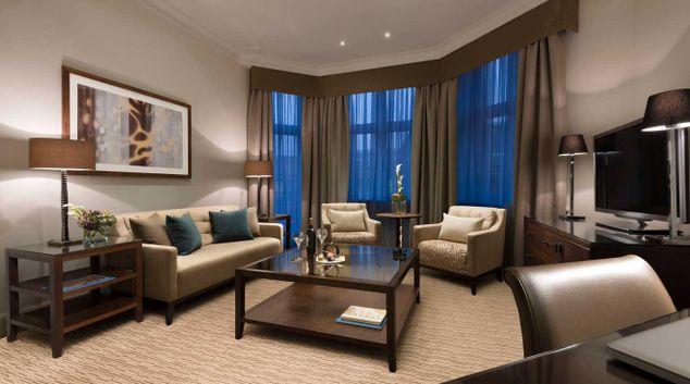 Executive master suite living room at Taj 51 Buckingham Gate