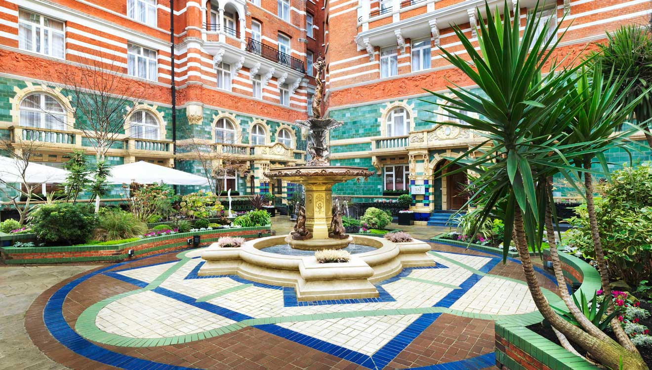 Courtyard at Taj 51 Buckingham Gate