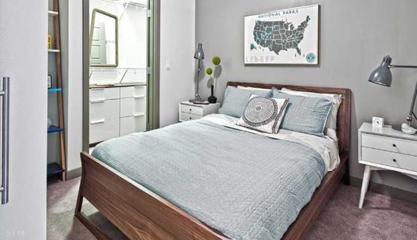 Bedroom  at AMLI Mark 24 Apartments