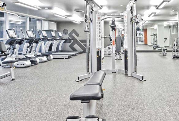 Fitness Center at AMLI Mark 24 Apartments