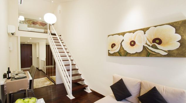 Loft at Heritage Cecil Street Apartments, Outram, Singapore