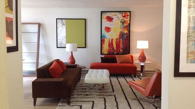 Living room at The Gateway Serviced Apartments