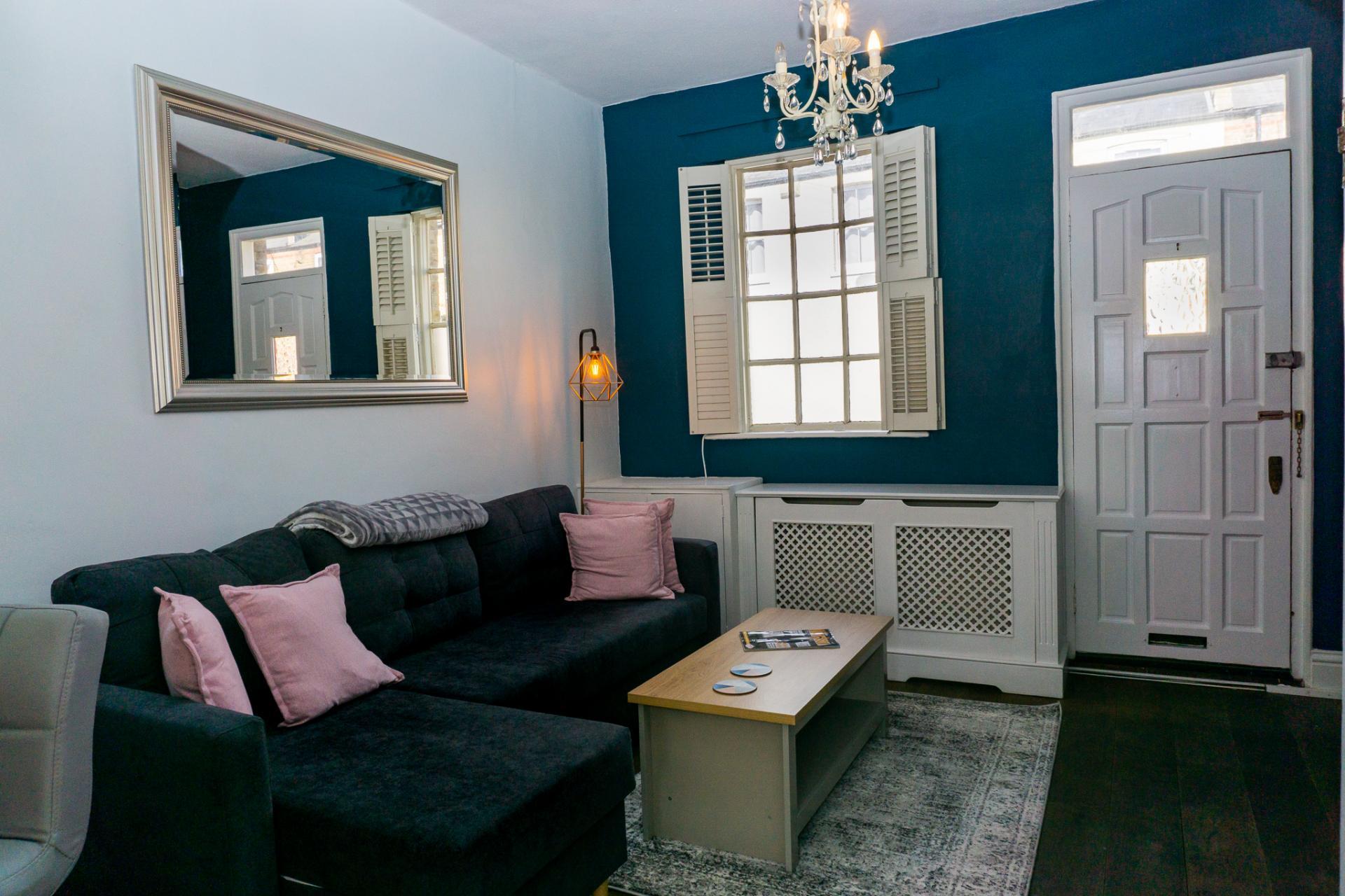Sofa at Duke Street Cottage