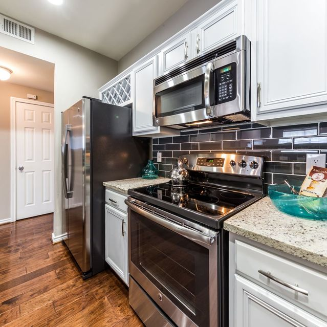Kitchen at Marquis at Turtle Creek Apartment
