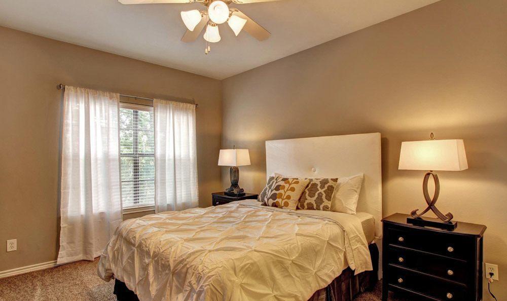 Bedroom at Turtle Creek Apartment