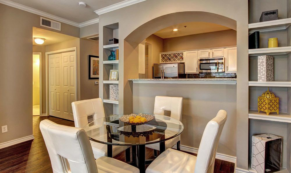 Dining Room at Turtle Creek Apartment