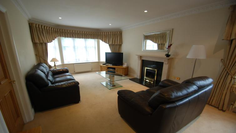 Living area at Warbeck House