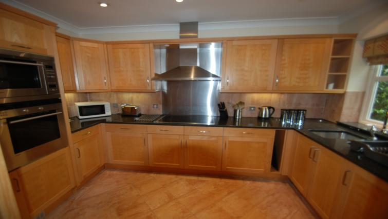 Kitchen at Warbeck House