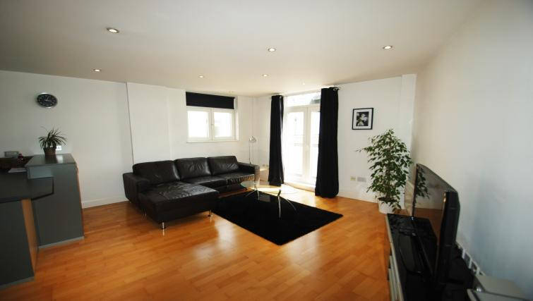 Large comfy living area at Clarence Street
