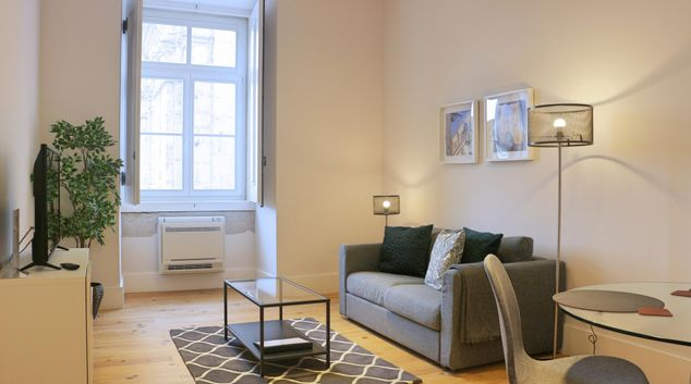 Sofa at City Riverview Apartment, Centre, Lisbon