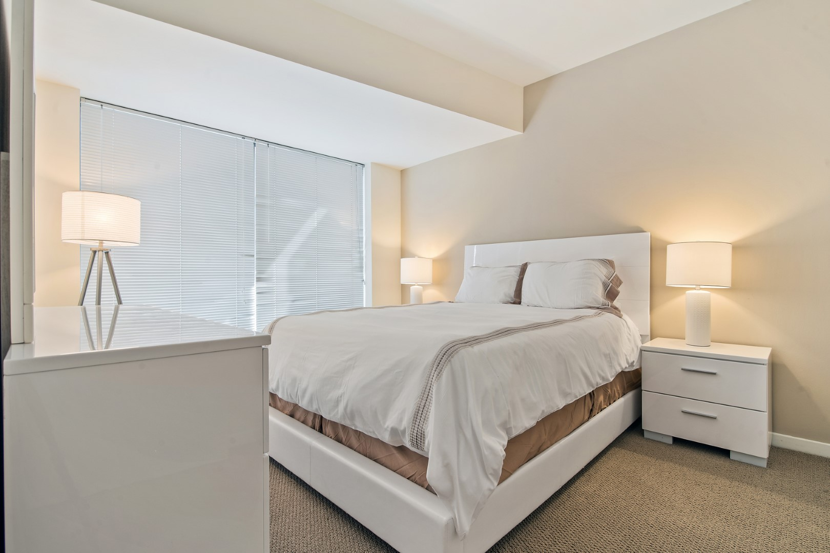 Bedroom at The Towers at Rincon Apartments, The East Cut, San Francisco