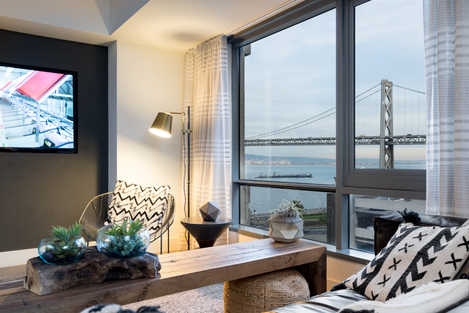 View from The Towers at Rincon Apartments, The East Cut, San Francisco