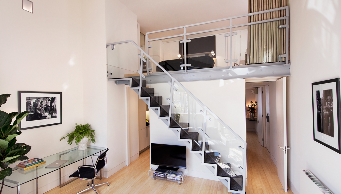 Duplex apartment at No 5 Maddox Street Apartments
