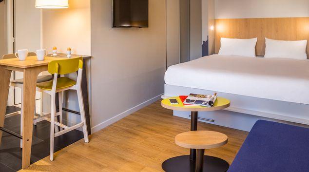 Living area at Aparthotel Adagio Montpellier Center
