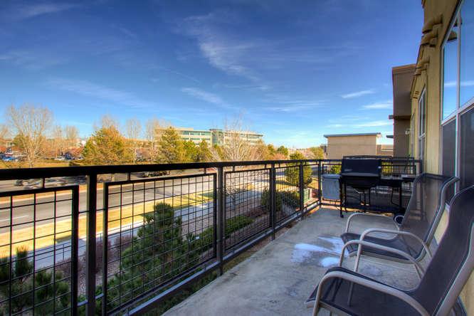 Balcony at Dry Creek Crossing Apartments