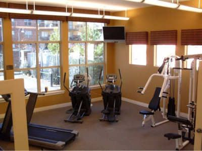 Gym at Dry Creek Crossing Apartments