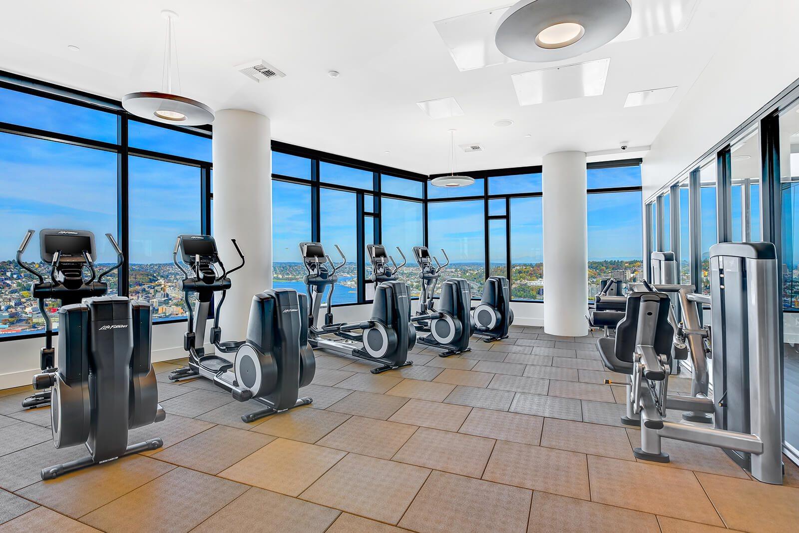 Fitness Centre at Cirrus Apartments