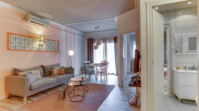 Living room at Charming in Sant Gervasi Apartment