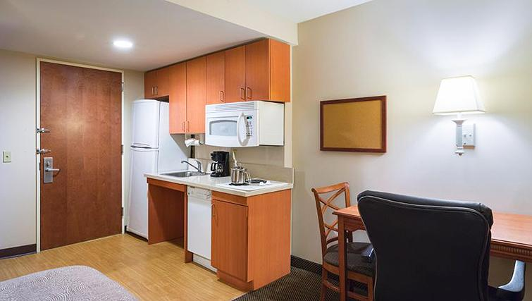 Kitchen in Candlewood Suites New York Times Square