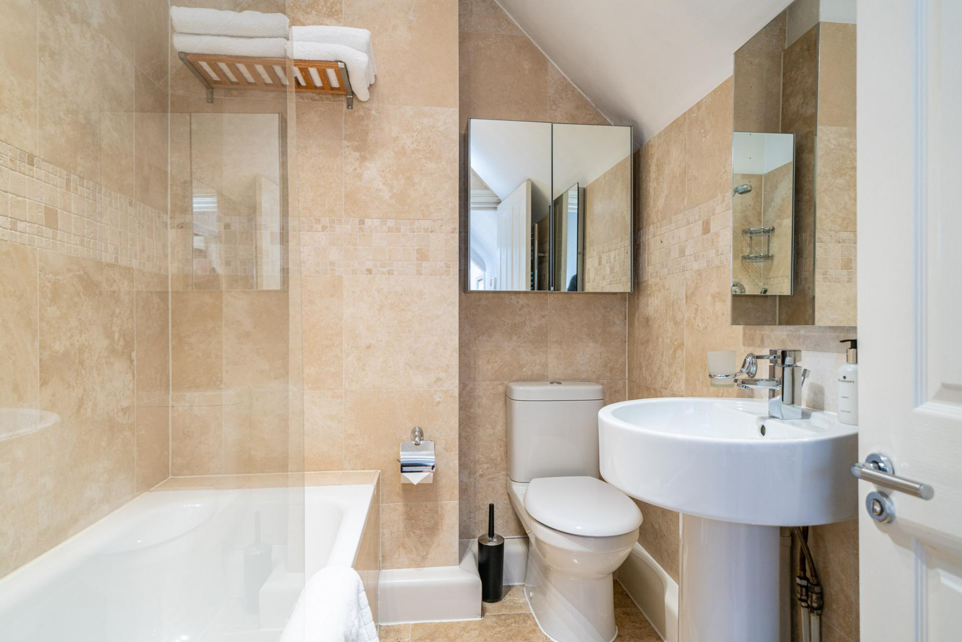 Bathroom at Romeland Apartments, The Cathedral Quarter, St Albans