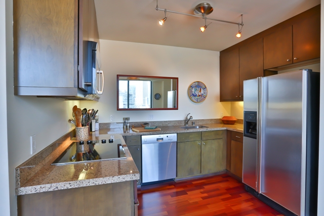 Kitchen at 199 New Montgomery Apartments