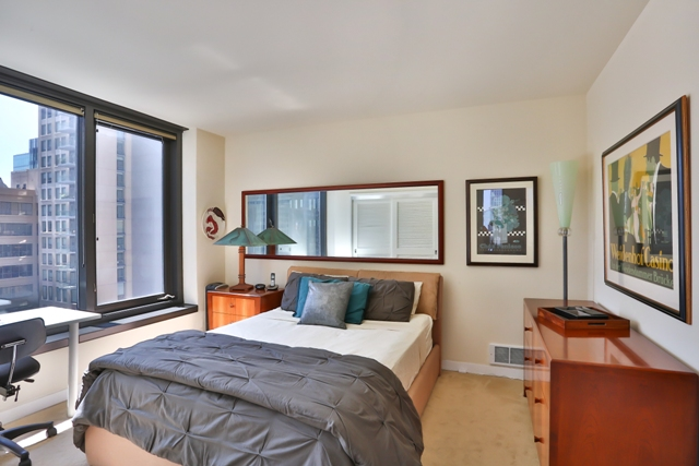 Bedroom at 199 New Montgomery Apartments