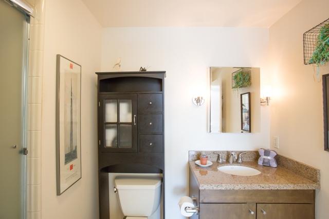 Bathroom at 199 New Montgomery Apartments