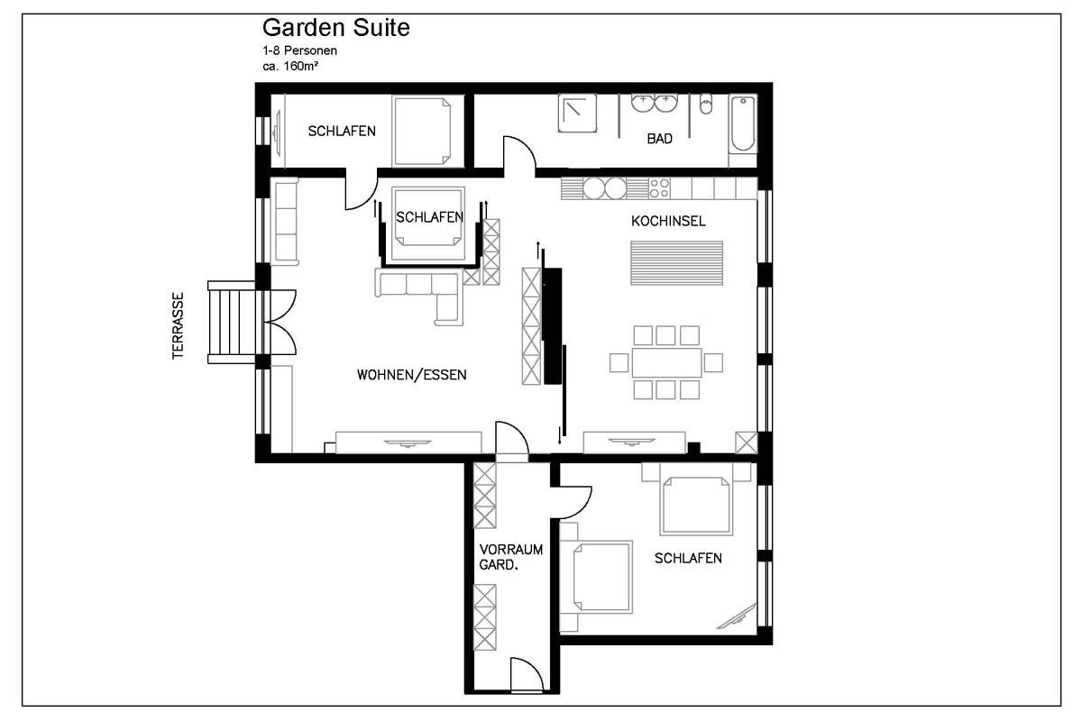 Floor plan at Pfalzer Wald Apartments