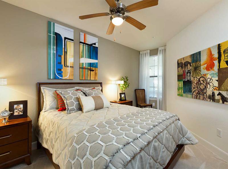 Bedroom at Amli 2121 Apartments
